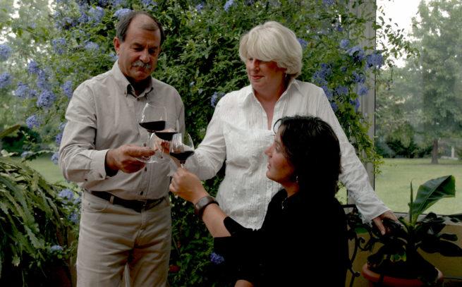 présentation Rémy, Isabelle et Sabine Fauchey Château L'Inclassable