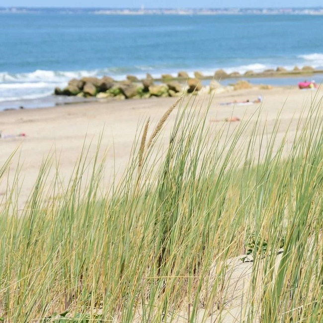 plage sable Soulac sur mer